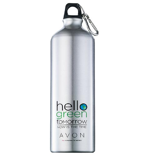 Avon Hello Green Tomorrow Reusable Water Bottle