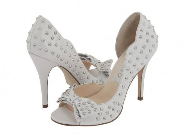 Boutique 9 Daraye D'orsay pump at Nine West white