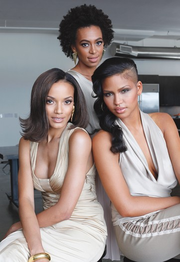 Carol's Daughter is launching a multiracial ad campaign starring Solange Knowles, Selita Ebanks and Cassie Ventura