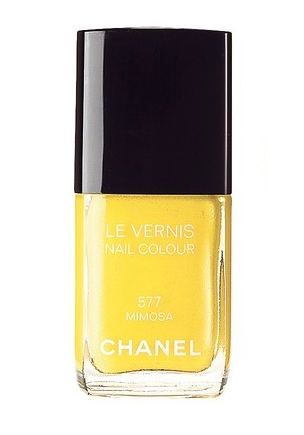 Chanel-Mimosa-yellow-nail-polish-spring-2011