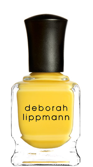 Deborah Lippman Yellow Brick Road nail polish
