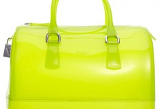 See-through chic: Furla See-through Candy Jelly Bauletto Barrel Satchel