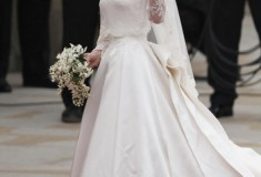 Royal wedding fashion + beauty roundup: Sarah Burton for Alexander McQueen gown, Cartier tiara, Essie manicure and more
