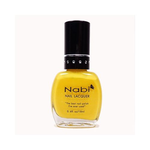 Nabi Nail Polish Neon Yellow no. 82