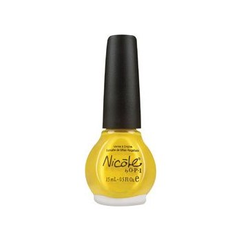 Nicole by OPI Nail Lacquer 2010 Colors Yellow It's Me