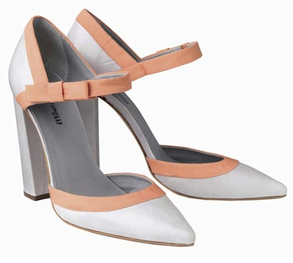 Pierre-Hardy-Editions-by-Gap-Spring-2011-peach-and-white