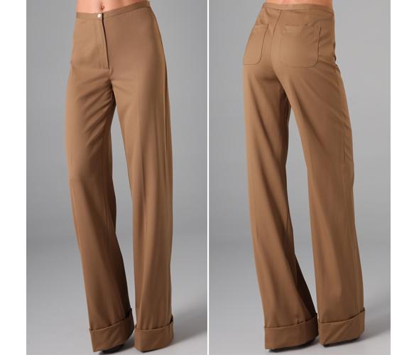 The perfect pant: RAOUL High Waist Wide Leg Pants