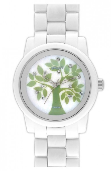 SPROUT™ Watches Printed Diamond Dial Watch