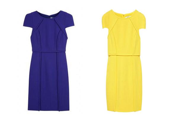 Tibi Wool-Crepe City Sheath Dresses