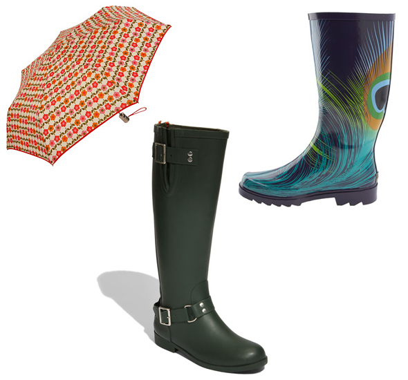 Vera-Bradley-umbrella-Chooka-Steve-Madden-rainboots