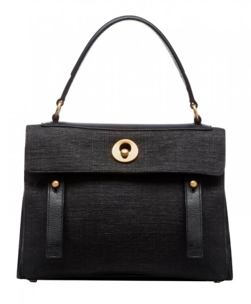 YVES SAINT LAURENT 'MUSE TWO ARTISANAL RECYCLED' BAG