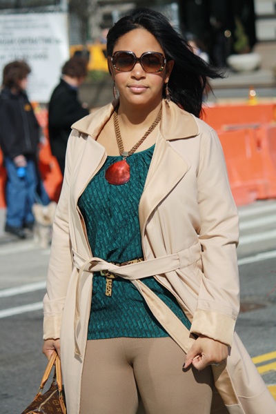 designing-women rachel roy trench coat catherine malandrino h&m necklace zara riding pants