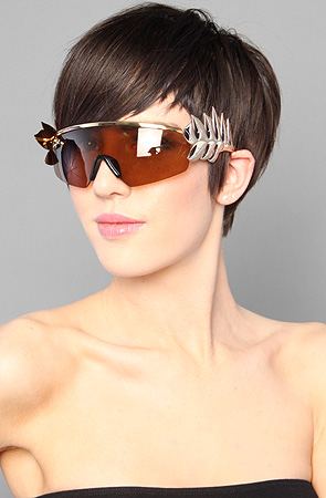 Jeremy Scott for Linda Farrow The Caesar Sunglasses