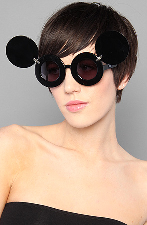 Jeremy Scott for Linda Farrow The Mickey Sunglasses