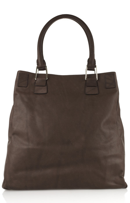 Pauric Sweeney Pocket leather tote back