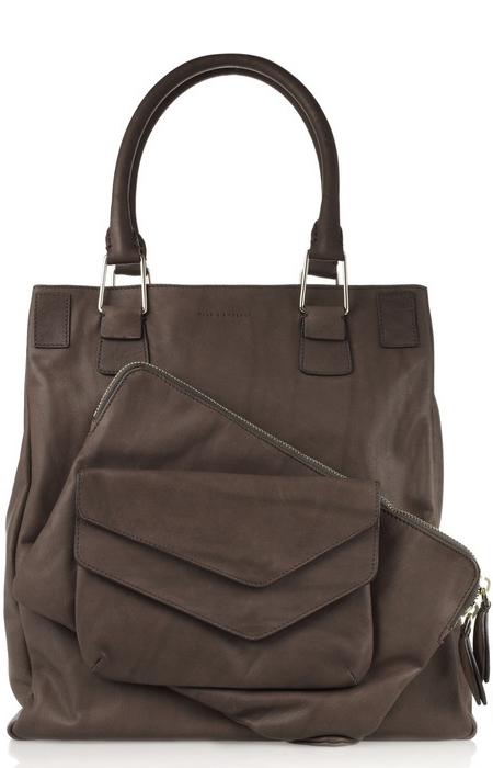 Pauric Sweeney Pocket leather tote front