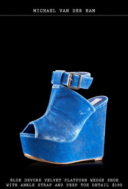 Topshop-Secret-Store-Michael-van-der-Ham-Blue-Devore-Velvet-platform-wedge-shoes