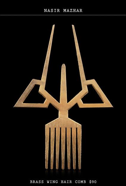 Topshop-Secret-Store-Nasir-Mazhar-Brass-Wing-Hair-Comb