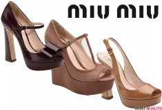 Miu Miu pre-Fall 2011 shoes - preview and pre-order