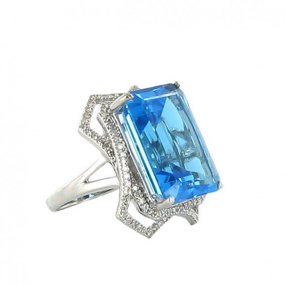 New Art Deco and Estate Jewelry Collection by Ramona Singer for HSN 2011_05_BlueStoneRing_2