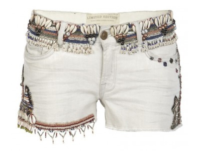 16 Sweet and Sexy Summer Shorts AllSaints-Embellished-Zingtac-Chalk-Lowe-Shorts