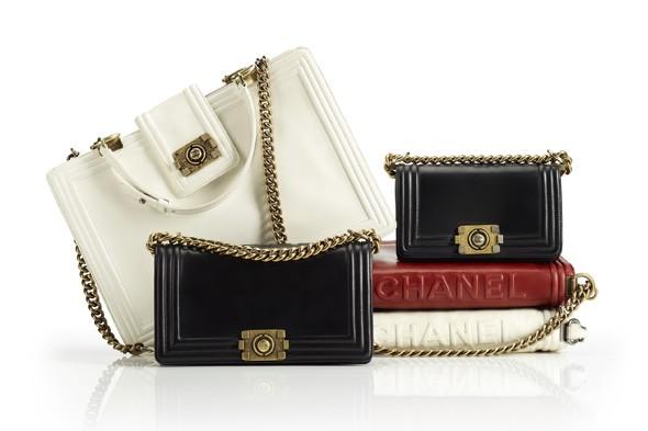 Chanel Boy handbags Fall 2011 boy capel hunting cartridge