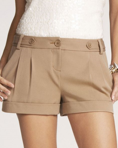 16 Sweet and Sexy Summer Shorts Express-2-12-STUDIO-STRETCH-CUFFED-SHORTS