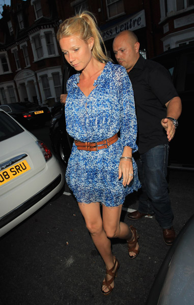 Gwyneth Paltrow arrives at 'Beyonce 4D with Belvedere' at Shepherds Bush Empire on June 27, 2011 in London, England