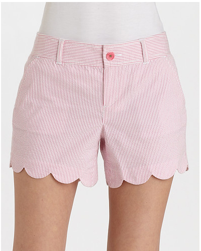 16 Sweet and Sexy Summer Shorts Lilly-Pulitzer-Buttercup-Seersucker-Shorts