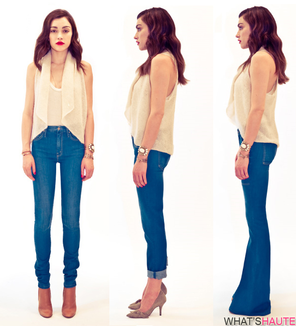 MOTHER-Denim-Fall-2011-Lookbook-The-Maiden-&-Unicorn-High-Waisted-Looker-Rascal-Cuff-Hazer
