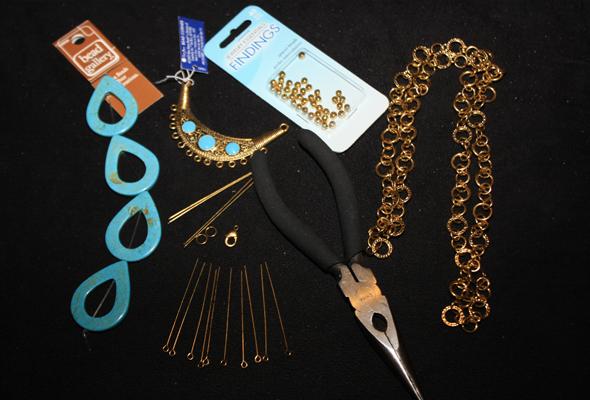 DIY Necklace-materials-1