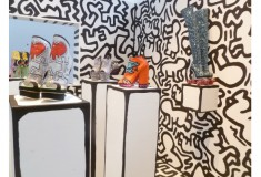 Visit the Nicholas Kirkwood x Keith Haring Foundation installation at Arnhem Mode Biennale, through July 3