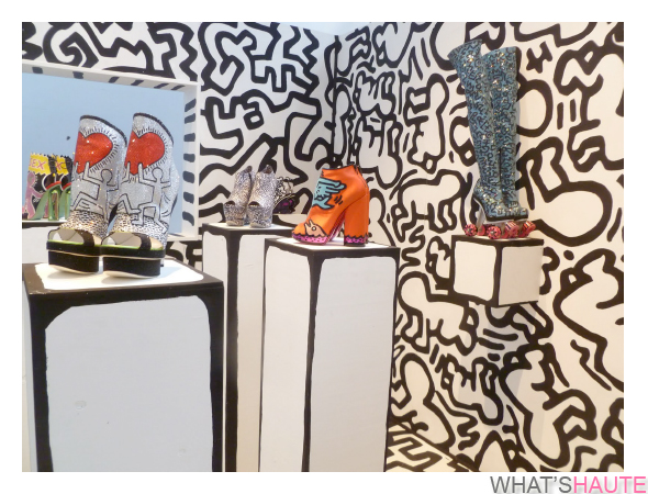 Nicholas-Kirkwood-x-Keith-Haring-Foundation's-installation-at-Arnhem-Mode-Biennale-2