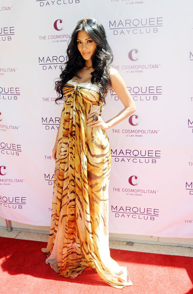 Nicole Scherzinger arrives at Marquee Nightclub and Dayclub to celebrate her birthday on June 25, 2011 in Las Vegas, Nevada.