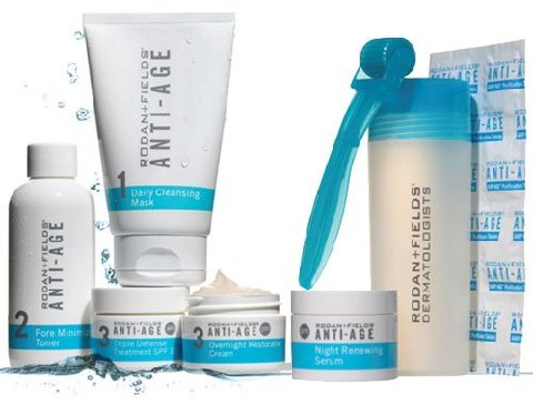 Rodan + Fields Dermatologists Anti Age AMP MD System luxury anti aging skin care products