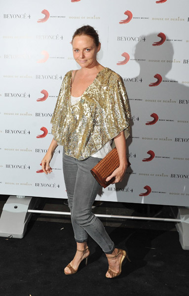 Stella McCartney attends Beyonce's album launch and performance at Shepherds Bush Empire on June 27, 2011 in London, England