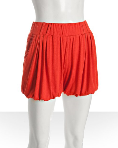 16 Sweet and Sexy Summer Shorts Wyatt-poppy-jersey-knit-draped-bloomer-shorts