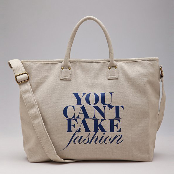 CFDA-YOU-CAN'T-FAKE-FASHION-tote-bag