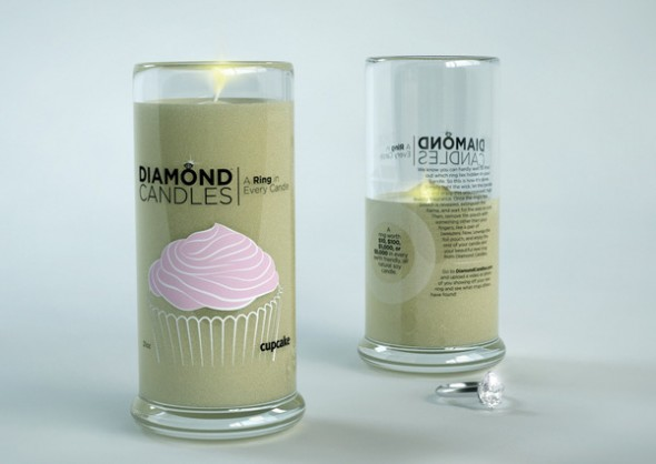 Diamond Candles soy eco-friendly candles Cupcake_grande