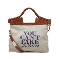 You Can't Fake Fashion Foley and Corinna Tote