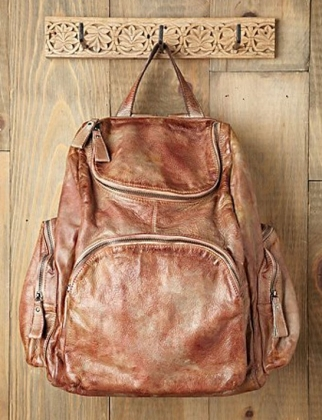 Free People Leather Delancy backpack