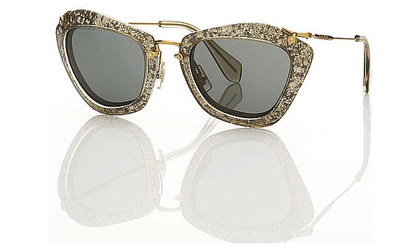 Miu-Miu-1940's-film-noir-inspired-sunglasses-for-Fall-silver-rimmed