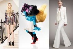 Haute Fashion + Beauty News Roundup: Olivier Rousteing inspired by Vegas for Balmain; Smurfette rocks Dolce & Gabbana; Rachel Zoe Now at Neiman Marcus and more