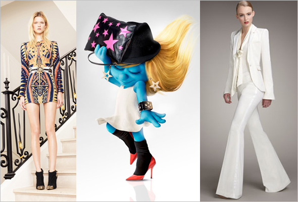 Olivier-Rousteing-gets-inspired-by-Elvis-in-Las-Vegas-for-first-collection-for-Balmain--Smurfette-in-dolce-&-Gabbana-Rachel-Zoe-clothing-line