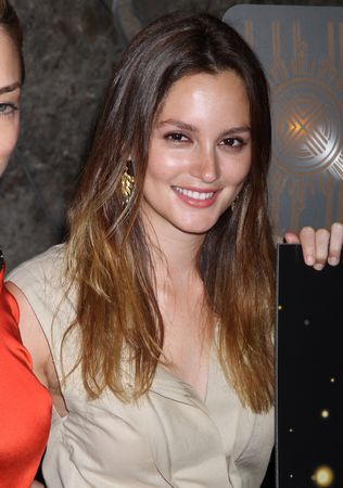 leighton meester ombre hair trend