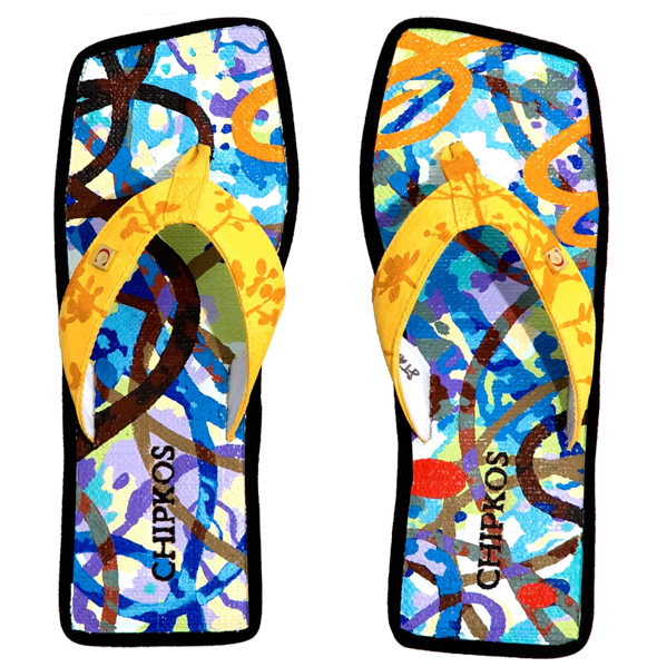 David Palmer Chipkos - World's Most Expensive Flip Flops $18,000.00