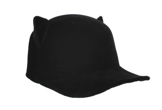 Givenchy-Wool-'Cat'-Hat-in-black