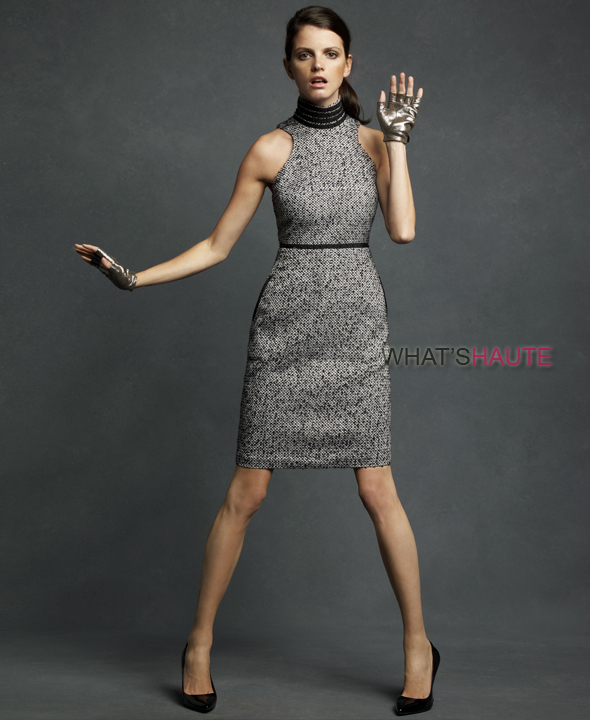 Karl-Lagerfeld-for-Impulse-only-at-Macy's-Tweed-Dress-$129