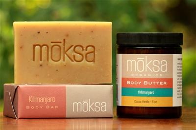 Moksa Organics Kilimanjaro Organic Body Butter