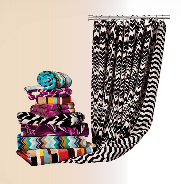missoni for target home hand bath towels shower curtain what 39 s haute